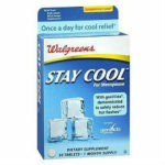 Walgreens Stay Cool For Menopause Review